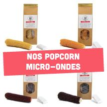 Nos popcorn micro-ondes