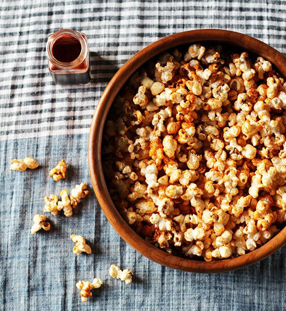 Popcorn-fume-barbecue